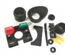 那些我们生产过的对讲机硅胶配件