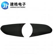 厂家定制对讲机按键黑色硅胶片开模定做加工