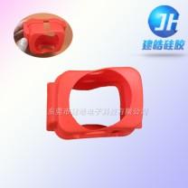 照相机红色硅胶材质防摔保护套定制厂家