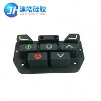 提供仪器设备控制面板阻燃硅胶按键来图来样定制
