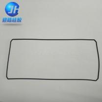 提供方形电池盒防水防尘方形硅胶密封圈来图来样定制
