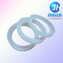 L型防水硅胶密封圈|异形硅胶件定制-建皓硅胶