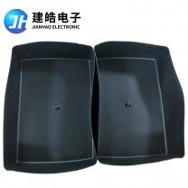 厂家定制黑色方形内置硅胶保护套开模定做加工生产